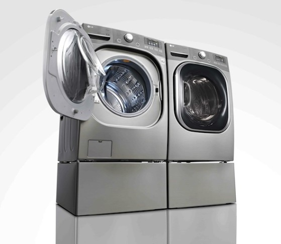 LG Heat pump dryer web